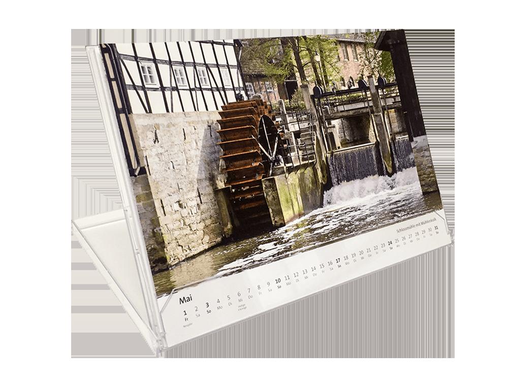 Historische Kalender Typ Box Größe 1