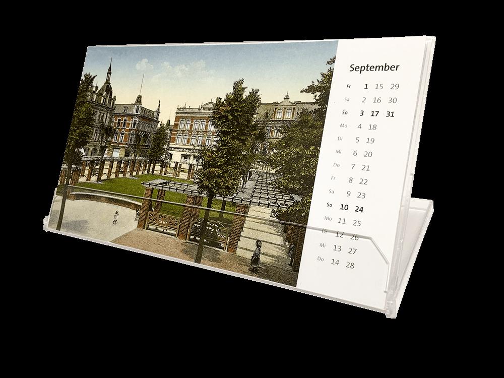 Historische Kalender Typ Box Größe 2