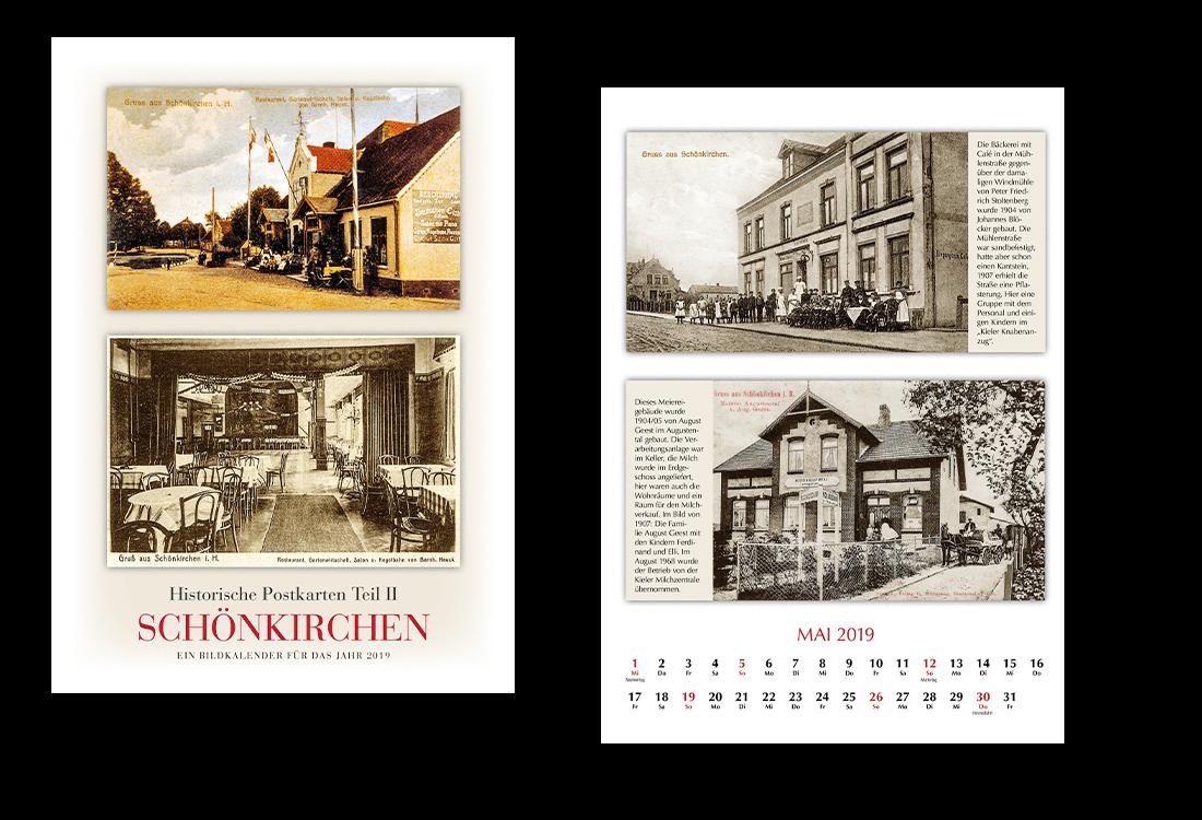 Historische Kalender Typ Klassik A3 hoch