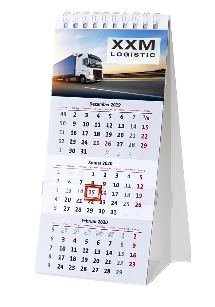 Firmen-Kalender Typ Tischkalender TK