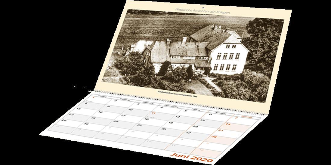 Historische Kalender Typ Termin-Kalender